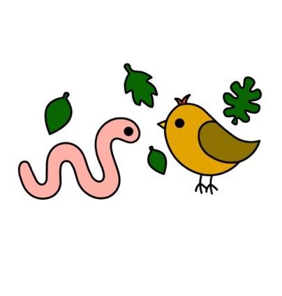 Bookworms and Songbirds LOGO